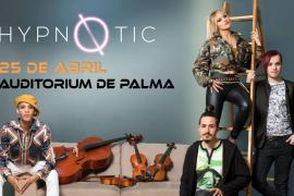 Los componentes de SuperVoices, Hypnøtic, en concierto en el Auditórium de Palma