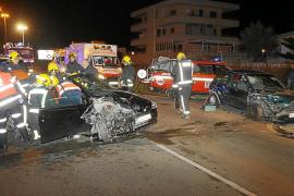 El acusado del choque en s'Arenal dice que giró el volante para evitar la colisión