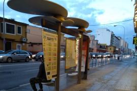 Retenciones en Palma por un golpe entre dos coches