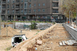 El bosque urbano del canódromo enfila el tramo final de las obras