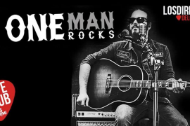 Música en directo con One Man Rocks en el Café Club de Es Gremi