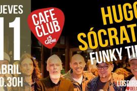 Los directos del Café Club de Es Gremi suenan con Hugo Sócrate Funky Time