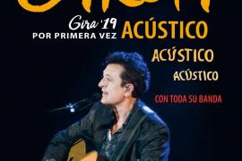 La gira 'Acústico 2019' de Manolo García hace parada en el Auditórium de Palma