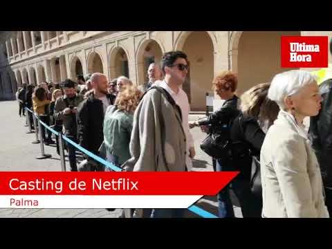 Colas en Palma para el casting de Netflix