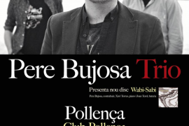 Pere Bujosa Trio presenta su nuevo trabajo 'Wabi-Sabi' en Club Pollença