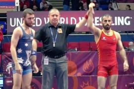 Levan Metreveli roza el bronce en el Europeo de lucha