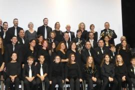 La Banda de Música de Sant Llorenç actúa en Sa Màniga