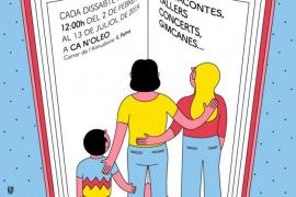 Ciclo de actividades familiares para el fomento de la lectura en Ca n'Oleo
