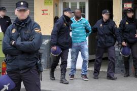 La red de nigerianos detenida en Son Gotleu 'trabajaba' con narcos de Son Banya