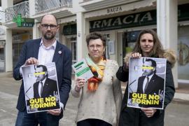 Unidas Podemos va frente a la farmacia de Bauzá para pedirle «que no vuelva» a la política