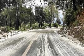 El granizo y las tormentas vuelven a Mallorca en abril