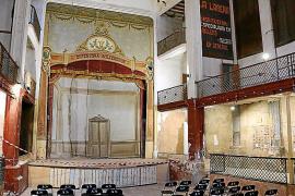La rehabilitación del teatro Defensora de Sóller podrá seguir este año con una ayuda de la ATB