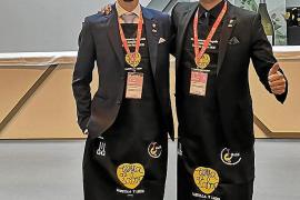 Davide Dellago, de Es Racó des Teix, segundo clasificado en el Campeonato de España de Sumillers