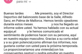El CB La Salle advierte sobre un falso 'director deportivo'