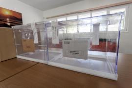 Un total de 850 urnas y 79 colegios electorales, el dispositivo de Cort para las elecciones generales