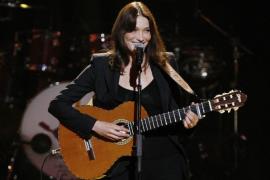 Carla Bruni cantará este verano en Mallorca