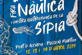 La XIV edición de la Fira Nàutica i Mostra Gastronòmica de la Sípia regresa a Alcúdia