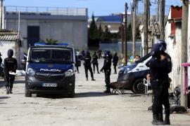 La operación contra el tráfico de drogas en Son Banya se salda con seis detenidos y ocho registros