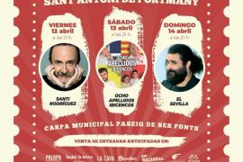 Sant Antoni celebra este fin de semana su primer Festival del Humor con las actuaciones de conocidos cómicos