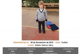 Alertan de la desaparición de un niño de 5 años en Calvià