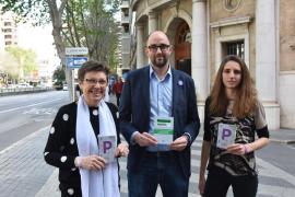 Unidas Podemos promete 900 euros al mes a las víctimas de la violencia de género