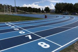Magaluf estrena su nueva pista de atletismo