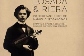 El Duo Losada & Riera da comienzo al Ciclo de Conciertos de Música Clásica de la Fundación Cultural Coll Bardolet