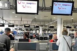 Facturación en el aeropuerto de Palma