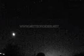 Detectan una bola de fuego sobrevolando la Península a 65.000 km/hora