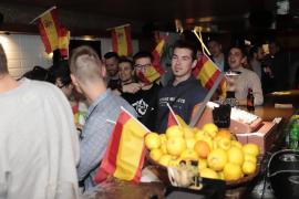 Jóvenes en un acto de Vox en Palma