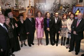 La Reina inaugura una muestra en Chipre con obras de Miró procedentes de Palma