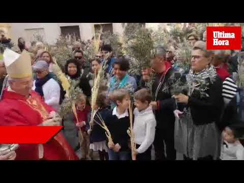 La bendición de las palmas este Domingo de Ramos arranca la Semana Santa