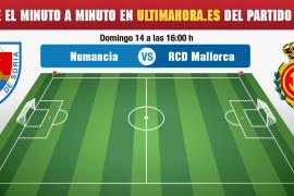Así hemos vivido en directo el Numancia-Real Mallorca