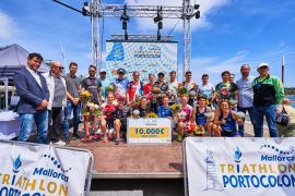 Passuello y Bilham ganan el Triathlon de Portocolom