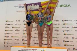 Balears, tercera en la Copa de la Reina de rítmica