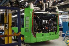 Los nuevos autobuses de la EMT partirán hacia Palma el 2 de mayo