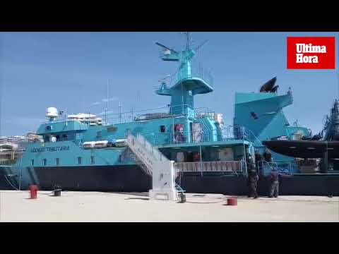 Llega a Palma el 'Fulmar', el buque que pone en jaque al narcotráfico