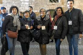Fiesta internacional del folklore en Ses Voltes
