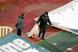 El club ordena retirar todas las pancartas críticas con Serra Ferrer