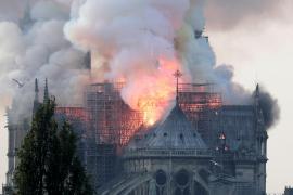 Incendio en la catedral de Notre Dame