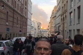 El mallorquín Joan Pol se encontraba con los bomberos de París