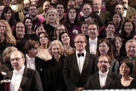 La reina Sofía, fiel al 'Rèquiem' solidario en una Seu abarrotada