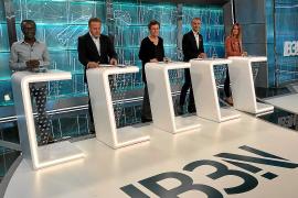 Debate con la ausencia del PI y Vox en IB3