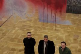 El artista Manuel Fernández abre ventanas efímeras en La Misericòrdia