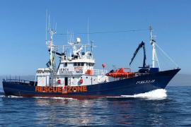 El barco de rescate 'Aita Mari'