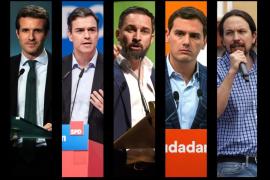 La Junta Electoral impide el debate de los cinco candidatos a presidente del Gobierno