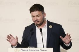El diputado de ERC Gabriel Rufián