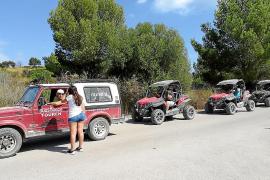 El Ajuntament d'Artà negocia regular el aparcamiento en Cala Torta