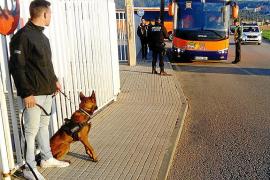 Policía Local y Guardia Civil realizan controles de droga en los institutos de sa Pobla