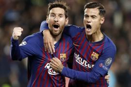 El Barcelona golea al United y se clasifica para las semifinales